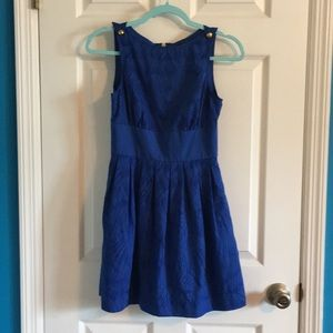 Stunning Armani Exchange blue dress